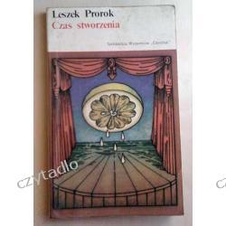 Czas stworzenia - Leszek Prorok