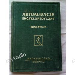 Aktualizacje encyklopedyczne  - Kraje świata t.1