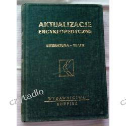 Aktualizacje encyklopedyczne tom 1 - Literatura i teatr