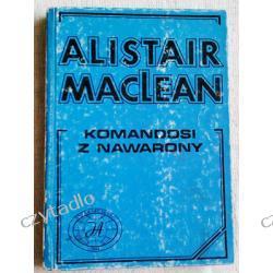 Komandosi z Nawarony - Alistair Maclean