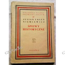 Śpiewy historyczne - Julian Ursyn Niemcewicz