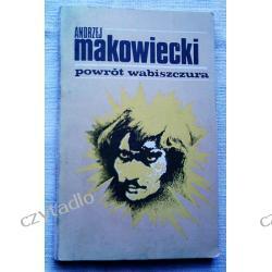 Powrót wabiszczura - Andrzej Makowiecki