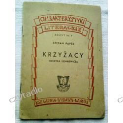 Krzyżacy Henryka Sienkiewicza - charakterystyka literacka