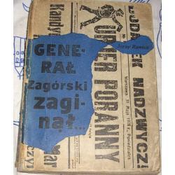 General Zagórski zginął - Jerzy Rawicz