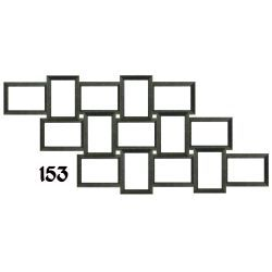 Galeria na 15 ramek ze zdjęciem 10 x 15 cm wzór 153 Akcesoria fotograficzne