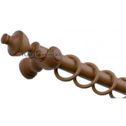 Karnisz Drewniany MORFEUSZ 35mm CALVADOS (CZEREŚNIA)