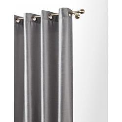 ZASŁONA NA KÓŁKACH - PRZELOTKACH 35mm STALOWY 140x250cm