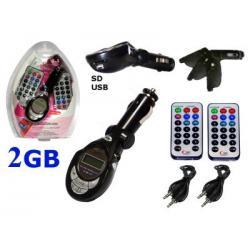 TRANSM. LCD SD/MMC 2GB 2PILOT BLACK