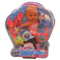BABY Born - Mamo umiem pływać - magiczne bąbelki, lalka funkcyjna