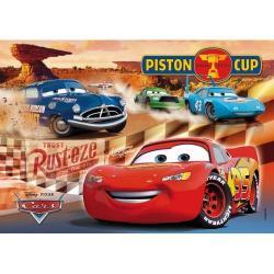 Puzzle Clementoni 104el. - Supercolor - PISTON CUP CARS - 27688