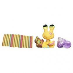 Littlest Pet Shop - Zwierzak z pocztówką - Krab pustelnik + figurka gratis