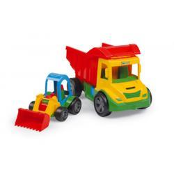 Multi Truck z buggy spychacz