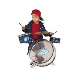 Perkusja duża 3 bębny = pedał + talerz + taboret Simba