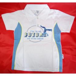 Bluzka koszulka chłopięca z kołnierzykiem rozm. 98/104/110/116/122