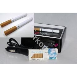 2x E-papieros 10 wkładów 3x ładowarka