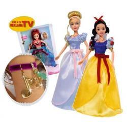 Śpiewające Księżniczki Arielka Kopciuszek Królewna Śnieżka