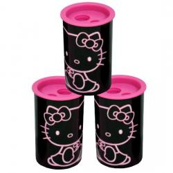 Hello Kitty temperówka czarna