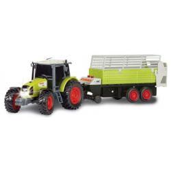 Dickie Traktor z Przyczepa Dźwięk Światło