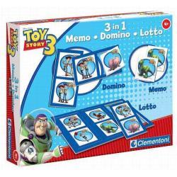 Clementoni Memo Domino Lotto - Toy Story