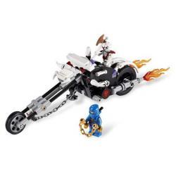 Lego NINJAGO Motocykl czaszki 2258