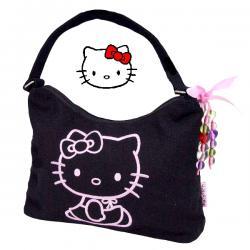 Torebka Hello Kitty czarna na ramię