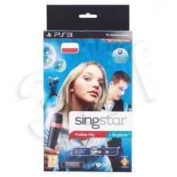 Gra PS3 Singstar Polskie Hity + Mikrofony Bezprzewodowe