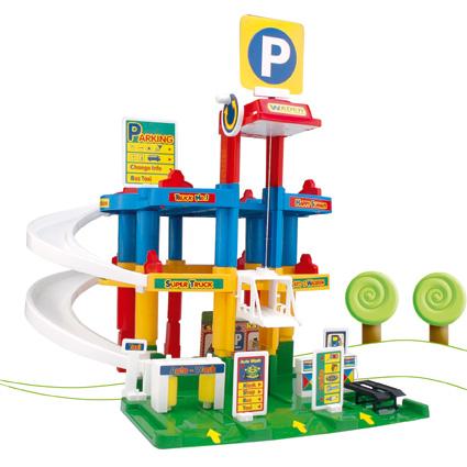 Wader 50555 Zabawki Park Garaż 3 Poziomy Hit Na Bazarekpl