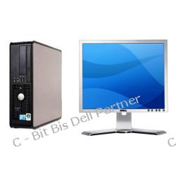 "DELL Optiplex 760 SLIM + DELL monitor lcd 19"""