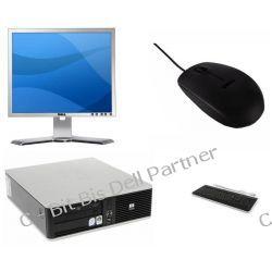 """HP Compaq dc7900p slim+ DELL monitor lcd 19"""" + nowa klawiatura i mysz"""