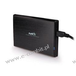"KIESZEŃ HDD ZEWNĘTRZNA SATA NATEC RHINO 2,5"" USB 3.0 ALUMINI"