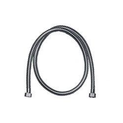 Wąż prysznicowy Inox, dł. 1,2 m, gwint 1/2 cala, z metalową osłoną Panele i zestawy prysznicowe