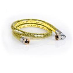 """Wąż gazowy ⌀ 1/2"""", dł. 1000 mm, kolanowy Rury i kształtki"""