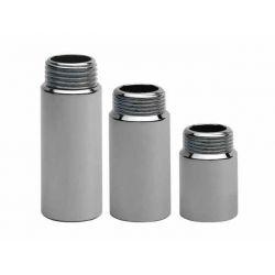 """Mosiężna przedłużka ⌀ 1/2"""", długość: 15 mm, chromowana Baterie kuchenne"""