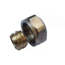 """Miedziana złączka zaciskowa do rur, ⌀ 15 mm × 3/4"""""""