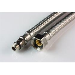 """Wąż przyłączeniowy do baterii, przyłącze M10 krótkie × ⌀ 3/8"""" GW, długość: 1000 mm"""