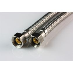 """Wąż przyłączeniowy do baterii, przyłącze ⌀ 3/8"""" × 3/8"""" GW, długość: 500 mm Baterie łazienkowe"""