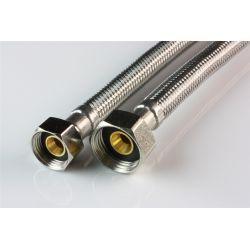 """Wąż przyłączeniowy do baterii, przyłącze ⌀ 1/2"""" × 3/8"""" GW, długość: 800 mm Zawory"""