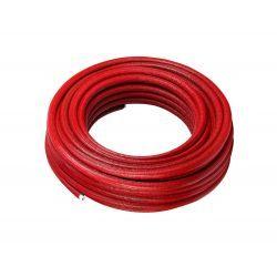 Rura wielowarstwowa Pex, ⌀ 20 mm, grubość: 2 mm, długość: 100 m; w otulinie czerwonej o grubości 6 mm