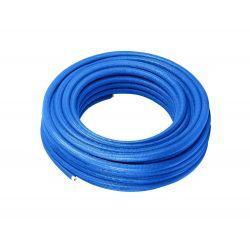 Rura wielowarstwowa Pex, ⌀ 20 mm, grubość: 2 mm, długość: 100 m; w otulinie niebieskiej o grubości 6 mm Rury i kształtki