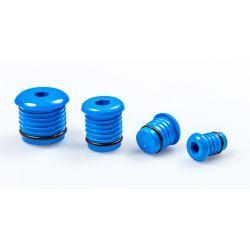Korek do prób szczelności do rur Pex, ⌀ 20 mm, grubość: 2 mm, niebieski