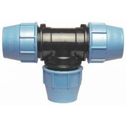Trójnik polietylenowy, ⌀ 32 mm × 32 mm × 32 mm