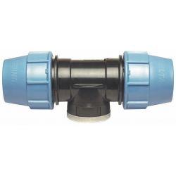 """Trójnik polietylenowy, ⌀ 25 mm × 1/2"""" GW × 25 mm Rury i kształtki"""
