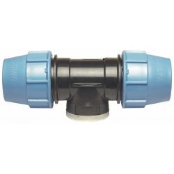 "Trójnik polietylenowy, ⌀ 20 mm × 3/4"" GW × 20 mm"