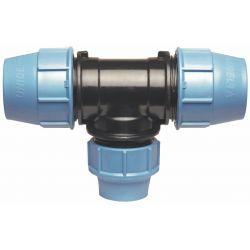Trójnik redukcyjny polietylenowy, ⌀ 25 mm × 20 mm × 25 mm Rury i kształtki
