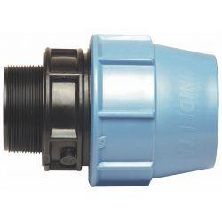 """Złączka polietylenowa, ⌀ 63 mm × 2 1/2"""" GZ"""