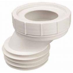 Złącze mimośrodowe do WC, ⌀ 110 mm × 4 cm, z tworzywa ciężkiego Rury i kształtki