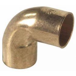 Kolano miedziane do lutowania, ⌀ 12 mm, 90° Rury i kształtki