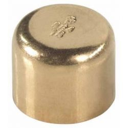 Zaślepka miedziana do lutowania, ⌀ 42 mm Rury i kształtki
