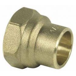 """Złączka do miedzi, ⌀ 10 mm × 3/8"""" GW Rury i kształtki"""
