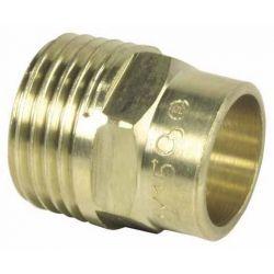 """Złączka do miedzi, ⌀ 15 mm × 1/2"""" GZ Rury i kształtki"""